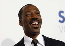 "<p>Actor Eddie Murphy smiles at the premiere of ""Good Luck Chuck"" at the Mann National theatre in Westwood, California, September 19, 2007. REUTERS/Mario Anzuoni</p>"