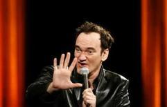 <p>Tarantino filmará história de guerra em 'Inglorious Bastards'. Quentin Tarantino vai começar a rodar em outubro seu próximo filme, uma história de ação que se passa na 2a Guerra Mundial, 'Inglorious Bastards', com a esperança de tê-lo pronto a tempo de participar do Festival de Cannes próximo ano. 11 de julho. Photo by Christian Hartmann</p>