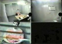 <p>Canadian citizen Omar Khadr, 16 years old at the time, appears in multiple video screen grab during a February 2003 interview in the Guantanamo Bay prison. Khadr, the only western prisoner still held in the U.S. prison, pleaded with Canadian interrogators to be allowed home in videos released on Tuesday by his lawyers. REUTERS/Handout via Reuters TV</p>