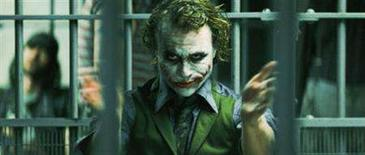 "<p>Heath Ledger stars as The Joker in the action drama ""The Dark Knight.' REUTERS/Warner Bros./Handout</p>"