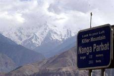 <p>Una immagine d'archivio del Nanga Parbat. REUTERS/Faisal Mahmood</p>