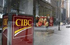<p>A Canadian Imperial Bank of Commerce (CIBC) branch is seen in Toronto, November 9, 2007. REUTERS/Mark Blinch</p>