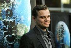 "<p>Leonardo DiCaprio poses at the premiere of ""The 11th Hour"" at the Arclight theatre in Hollywood, California, August 8, 2007. REUTERS/Mario Anzuoni</p>"