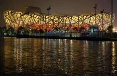 <p>O Estádio Olímpico Nacional da China, em Pequim. Fora dos itinerários turísticos mais conhecidos da China, as exuberantes instalações dos Jogos Olímpicos de Pequim estão conseguindo rivalizar com atrações de peso como a Grande Muralha e a Cidade Proibida. Photo by Jason Lee</p>