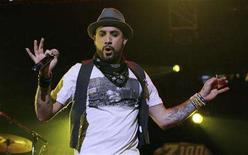 "<p>A.J. Mclean of ""The Backstreet Boys"" performs during the Z100 ""Jingle Ball"" concert at Madison Square Garden in New York December 14, 2007. REUTERS/Lucas Jackson</p>"