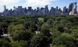 <p>Um balão de hélio vai decolar sobre o Central Park de Nova York na sexta-feira para comemorar o aniversário da criação do ícone da cidade, 150 anos atrás. Photo by Mike Segar</p>