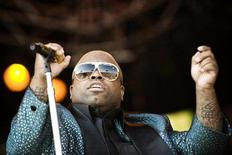 <p>Cee-Lo Green of Gnarls Barkley performs at the Orange stage during the Roskilde Festival July 4, 2008. REUTERS/Jens Norgaard Larsen/Scanpix Denmark</p>