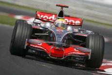 <p>Lewis Hamilton, da McLaren, durante o GP da Hungria, 3 de agosto de 2008. Photo by Damir Sagolj</p>