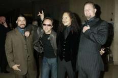 <p>Metallica vai lançar novo álbum em 12 de setembro. A banda Metallica fará o lançamento mundial de seu primeiro álbum novo em cinco anos na sexta-feira, 12 de setembro. É a segunda vez que a banda quebra com o costume da indústria musical de lançar álbuns em uma segunda ou terça-feira. Foto do Arquivo. Photo by Fred Prouser</p>