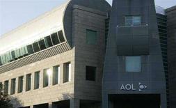 <p>Gli uffici di Aol a Beverly Hills, California, il 12 novembre 2007. REUTERS/Fred Prouser</p>
