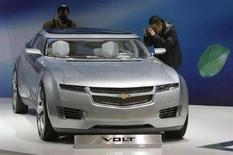 <p>La Chevrolet Volt. REUTERS/Jason Lee (CHINA)</p>