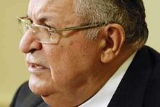 <p>Imagem de arquivo do presidente iraquiano, Jalal Talabani, em Washington. Talabani está se recuperando de uma cirurgia de coração nos Estados Unidos, disseram três fontes políticas iraquianas. Photo by Jonathan Ernst</p>