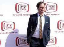 <p>Rainn Wilson arrives at the 6th Annual TV Land Awards in Santa Monica, California, June 8, 2008. REUTERS/Chris Pizzello</p>