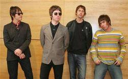 "<p>British rock band Oasis in a file photo. Oasis gets back to its stripped-down rock roots on its upcoming album, ""Dig Out Your Soul."" REUTERS/Paul Yeung</p>"