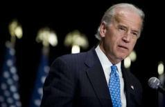 <p>Joseph Biden, vice do candidato democrata Obama. Barack Obama escolheu o senador de Delaware Joseph Biden como seu candidato a vice-presidente. Imagem de arquivo. 30 de novembro. Photo by Joshua Roberts</p>