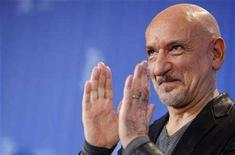 "<p>""Fifty Dead Men Walking"" star Ben Kingsley poses during a photocall at the 58th Berlinale International Film Festival in Berlin February 9, 2008. REUTERS/Johannes Eisele</p>"