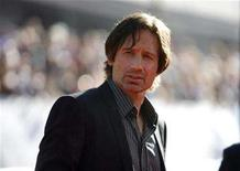 <p>File photo shows David Duchovny in Hollywood, California July 23, 2008. REUTERS/Mario Anzuoni</p>