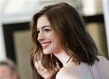 "<p>U.S. actress Anne Hathaway poses during a photocall at the Venice Film Festival September 3, 2008. Hathaway stars in the movie ""Rachel Getting Married"" by director Jonathan Demme which is shown in the competition at the Venice Film Festival. REUTERS/Max Rossi</p>"