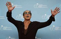 <p>Adriano Celentano alla Mostra del cinema di Venezia. REUTERS/Max Rossi</p>
