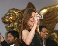 "<p>U.S. director Kathryn Bigelow takes a picture during a red carpet event at the Venice Film Festival September 4, 2008. Bigelow's ""The Hurt Locker"" is shown in competition at the Venice Film Festival. REUTERS/Denis Balibouse</p>"
