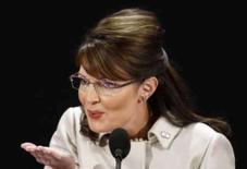 <p>Discurso de Palin perde por pouco para Obama em audiência. Mais de 37,2 milhões de espectadores de TV dos EUA assistiram na quarta-feira ao discurso da candidata a vice-presidente Sarah Palin na Convenção Nacional Republicana, segundo dados da consultoria Nielsen Media Research. 3 de setembro. Photo by Mike Segar</p>