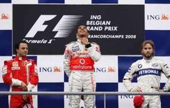<p>Lewis Hamilton vence GL da Bélgica, Massa fica em segundo e Nick Haudfield fica em terceiro. Photo by Francois Lenoir</p>