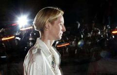"<p>Actress Tilda Swinton arrives at the ""Burn After Reading"" gala during the 33rd Toronto International Film Festival, September 5, 2008. REUTERS/Mark Blinch</p>"