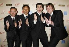 <p>The Wiggles pose as they arrive at the G'Day USA: Australia Week 2007 Penfolds Icon gala in Los Angeles January 13, 2007. REUTERS/Fred Prouser</p>