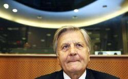 <p>Il presidente della Bce Jean-Claude Trichet. REUTERS/Thierry Roge (BELGIUM)</p>