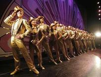 """<p>Dancers take the stage in """"A Chorus Line"""" in this publicity photo from the documentary film """"Every Little Step"""" released to Reuters September 12, 2008. REUTERS/Paul Kolnik/Handout</p>"""