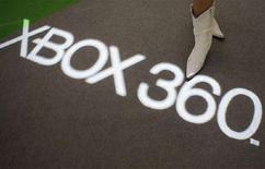 <p>Uno stand dell'Xbox 360 al Tokyo Game Show a Chiba. REUTERS/Issei Kato (JAPAN)</p>