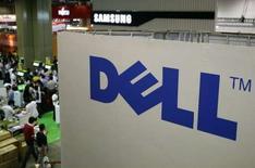 <p>Dell, deuxième fabricant mondial de micro-ordinateurs, constate une nouvelle détérioration de la demande mondiale dans le domaine des technologies de l'information. /Photo prise le 28 août 2008/REUTERS/Tim Chong</p>