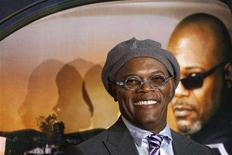 "<p>Samuel L. Jackson arrives at the premiere of the film ""Lakeview Terrace"" in New York September 15, 2008. REUTERS/Lucas Jackson</p>"