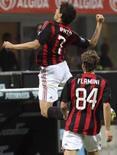 <p>Milan bate Zurich com gol de Pato; Jô faz 2 em vitória do City. O Milan aliviou a pressão em cima do técnico Carlo Ancelotti ao vencer o FC Zurich, por 3 x 1, na partida de ida da 1a rodada da Copa da Uefa, nesta quinta-feira. 18 de setembro. Photo by Stefano Rellandini</p>
