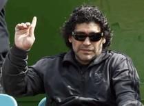 <p>O Inter de Milão, atual campeão da Itália, está considerando contratar o ex-jogador argentino Diego Maradona como consultor, disse o presidente do clube Massimo Moratti. Photo by Marcos Brindicci</p>