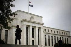 <p>Il palazzo della Fed a Washington. REUTERS/Jim Young (UNITED STATES)</p>