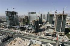 <p>Work continues on MGM Mirage's CityCenter project in Las Vegas, Nevada September 11, 2008. REUTERS/Steve Marcus</p>