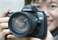 <p>Una macchina Nikon. REUTERS/Haruyoshi Yamaguchi HY/FA</p>