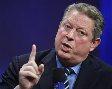 Former Vice President Al Gore speaks during the Clinton Global Initiative, in New York, September 24, 2008. REUTERS/Chip East