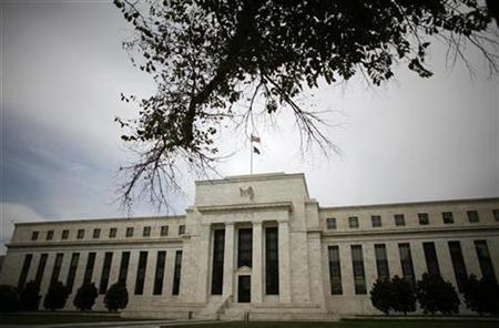 The Federal Reserve Building is seen in Washington September 16, 2008. REUTERS/Jim Young