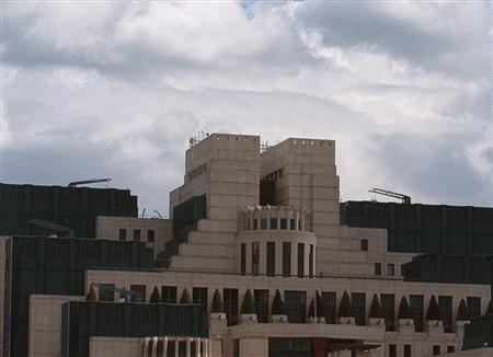 The headquarters of MI6 on the bank of the Thames in a file photo. REUTERS/File