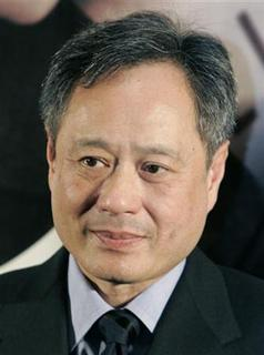 Taiwan-born film director Ang Lee attends a Japan premiere event of their movie ''Lust, Caution'' in Tokyo January 24, 2008. REUTERS/Yuriko Nakao