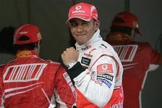 <p>Il pilota della McLaren Lewis Hamilton. REUTERS/Aly Song (CHINA)</p>