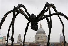 <p>Una scultura gigante di un ragno. REUTERS/Kieran Doherty</p>
