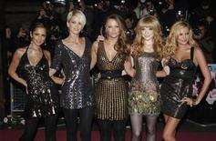 "<p>British group Girls Aloud pose at the world premiere of ""St Trinians"" in London December 10, 2007. REUTERS/Anthony Harvey</p>"