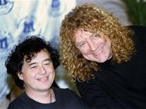 <p>Foto de arquivo de Jimmy Page e Robert Plant, integrantes de uma das maiores bandas de Rock do mundo, Led Zeppelin.</p>