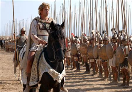 Colin Farrell as Alexander in a scene from the 2004 film ''Alexander''. REUTERS/Warner Bros. Pictures/Handout
