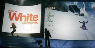 <p>Una presentazione di un gioco per la console di Nintendo Wii. REUTERS/Fred Prouser</p>
