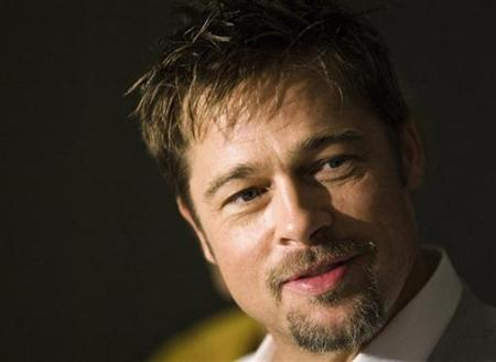 Brad Pitt attends the ''Burn After Reading'' news conference during the 33rd Toronto International Film Festival September 6, 2008. REUTERS/Mark Blinch