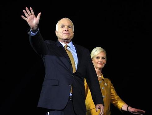 McCain concedes